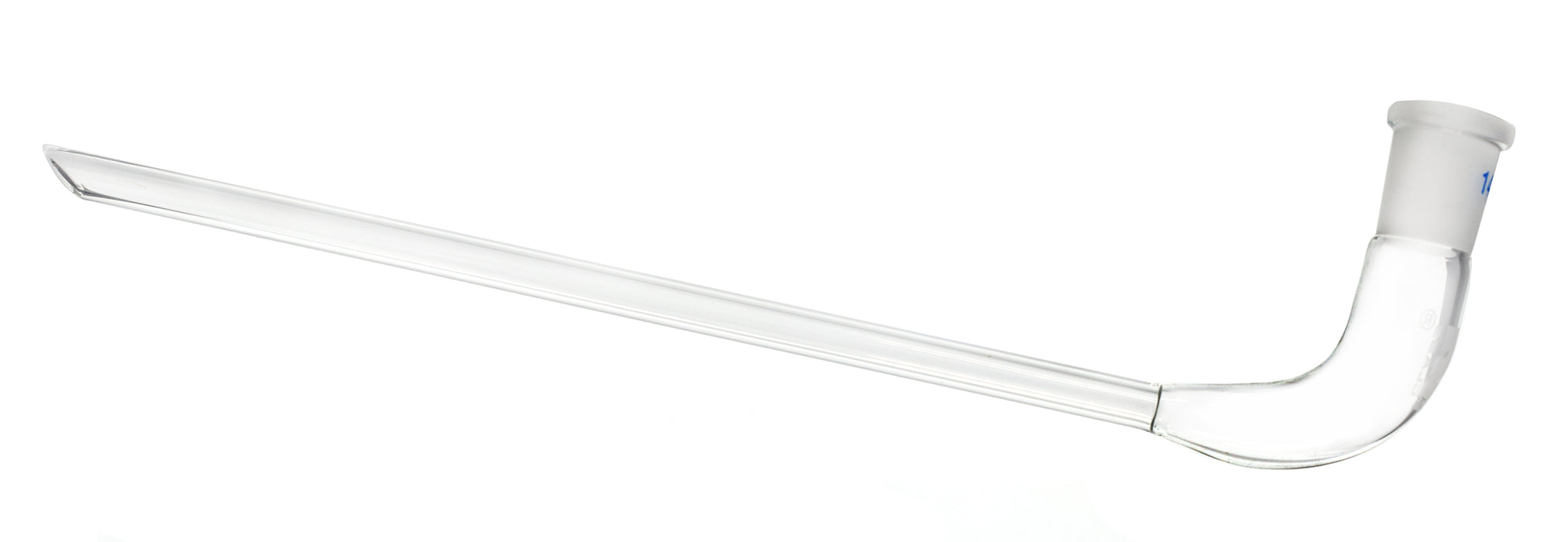 Receiver Delivery Adaptor, Long Stem - Socket Size: 14/23 - Body Length, 65mm - Borosilicate Glass - Eisco Labs