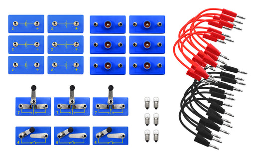 Primary Basic Electricity Kit - Materials for 6 Students - Eisco Labs