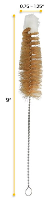 "Tapered Bristle Brush with Cotton Yarn Tip, 0.75-1.25"" Diameter"