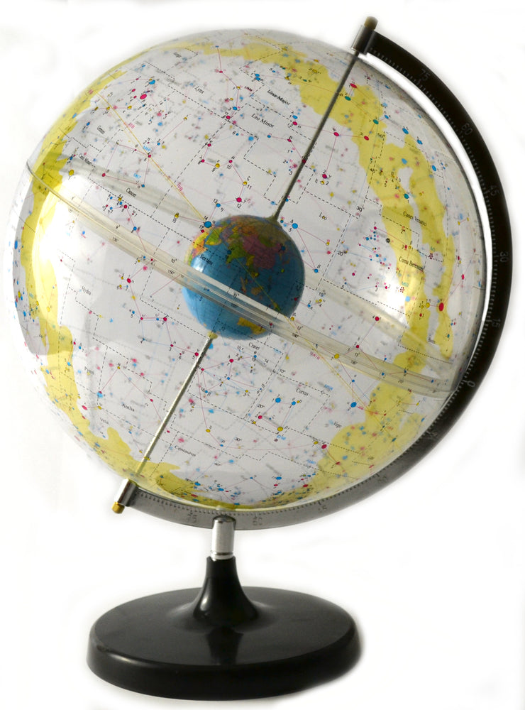 "17.5"" Tall Eisco Labs Celestial Star Globe - 12"" Globe Diameter"