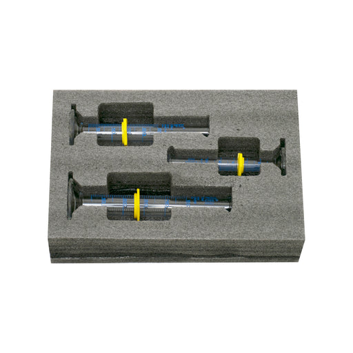 Safety Pack Measuring Cylinder Set - 10ml, 25ml & 50ml - ASTM,  Class A