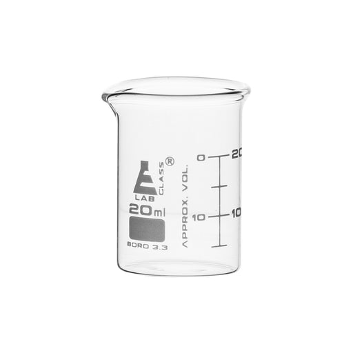 Beakers - Glass - ASTM 20ml