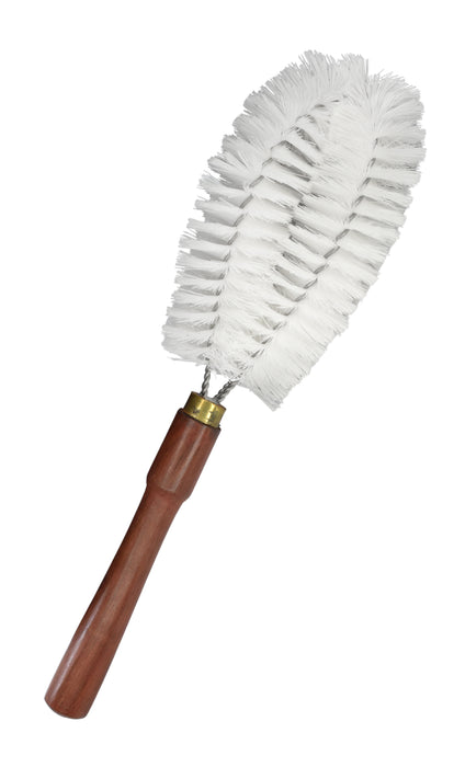 "Beaker Cleaning Bristle Brush, 12"" - Wooden Handle"