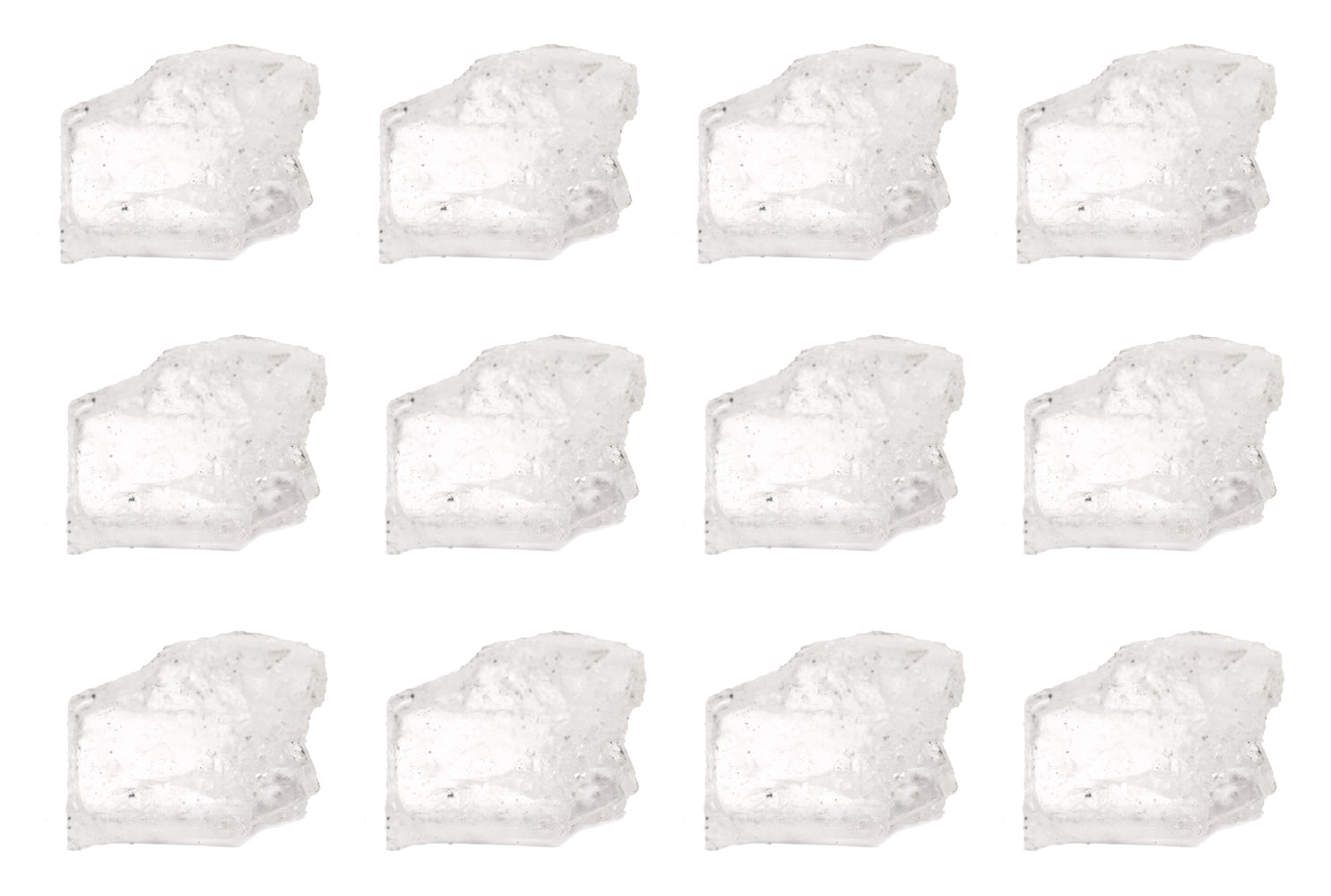 "12PK Raw Halite Mineral Specimens, 1"" - Geologist Selected Samples - Eisco Labs"
