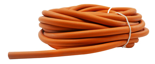 Rubber Tubing, 10m, Orange - Soft - 7mm Bore - 1.5mm Thickness