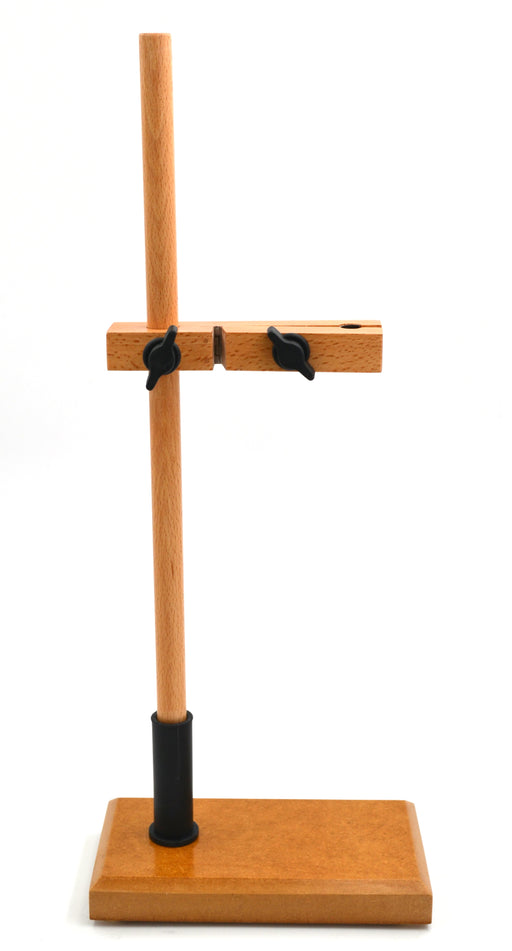 Burette Stand - Single, made of seasoned hardwood