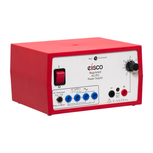 Power Supplies Regulated AC/DC 0-6V, 5Amp.