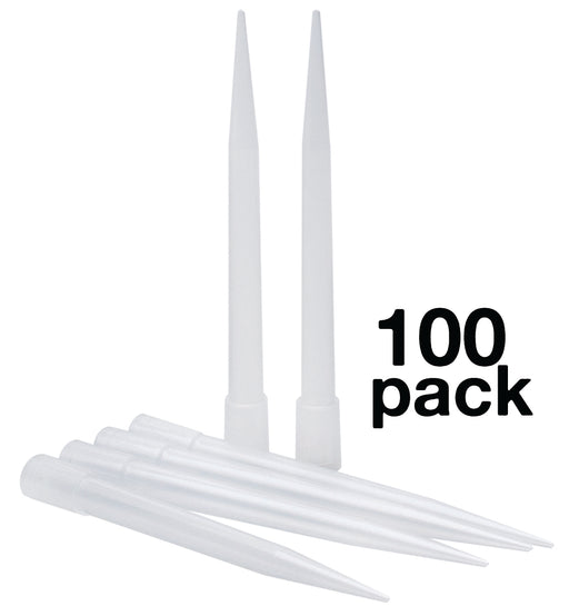 100PK Micropipette Tips, 10,000µl Capacity - Non-Sterile, Autoclavable - Eisco Labs