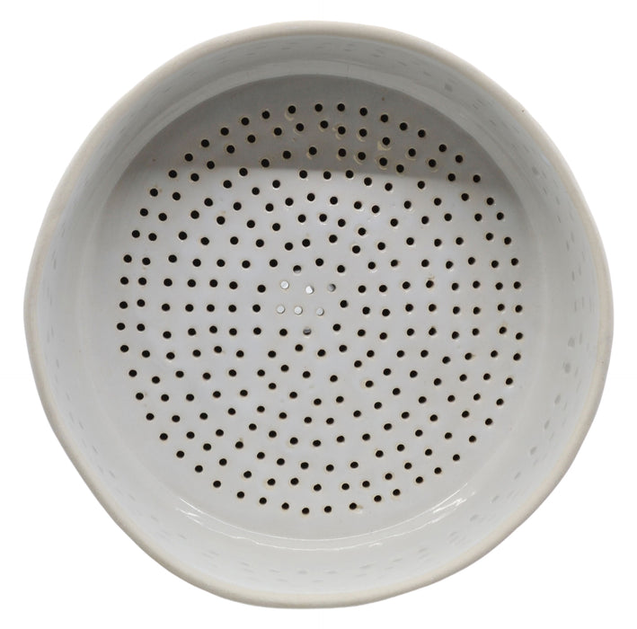 Buchner Funnel, 20cm - Porcelain - Straight Sides, Perforated Plate