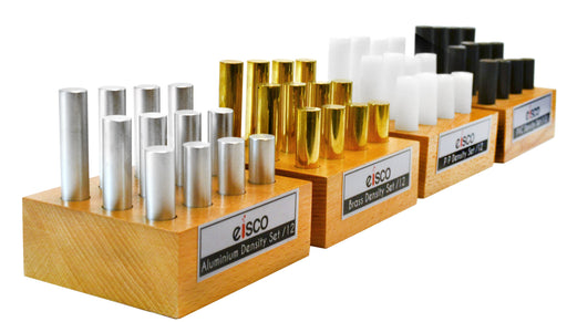 48pc Density Cylinder Super Set - Includes Brass, Aluminum, PVC & Polypropylene