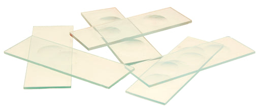 Microscope Slides, With Triple Concavity, Pack of 10 (Discontinued)