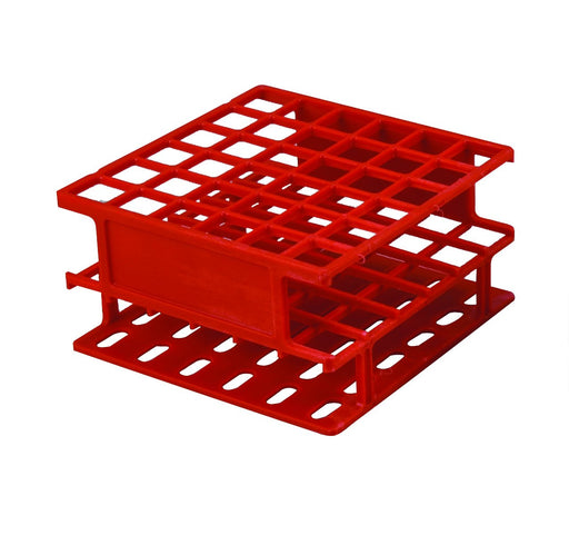 "Test Tube Stand, Holds 36 Tubes - 0.75"" Slots - Three Tier Grid Design - Eisco Labs"