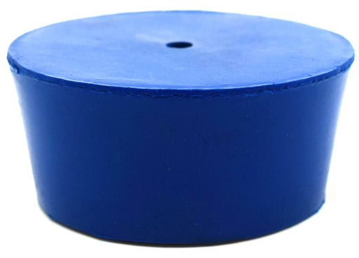 Neoprene Stopper ASTM, 1 Hole - Blue, Size # 11- 48mm Bottom, 56mm Top, 25mm Length - Pack of 10 - Eisco Labs
