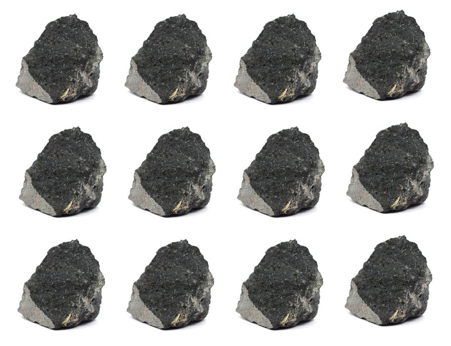 "12PK Raw Basalt Rock Specimens, 1"" - Geologist Selected Samples - Eisco Labs"