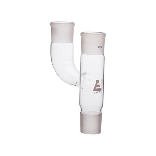 Multiple Adapter, Two Parallel Necks - Socket Size: 55/50 - Borosilicate Glass
