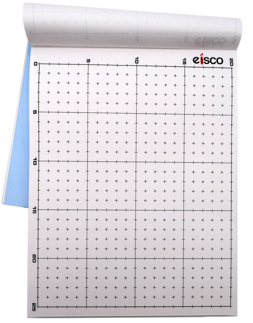 White Non-Conductive Paper (Pack of 100), Dry Field Mapping Kit Replacement Paper - Eisco Labs