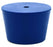 Neoprene Stopper ASTM, 1 Hole - Blue, Size #7.5 - 31mm Bottom, 39mm Top, 25mm Length - Pack of 10 - Eisco Labs