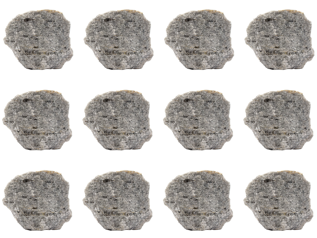 "12PK Raw Mica Schist, Metamorphic Rock Specimens - Approx. 1"" - Geologist Selected & Hand Processed - Great for Science Classrooms - Class Pack - Eisco Labs"