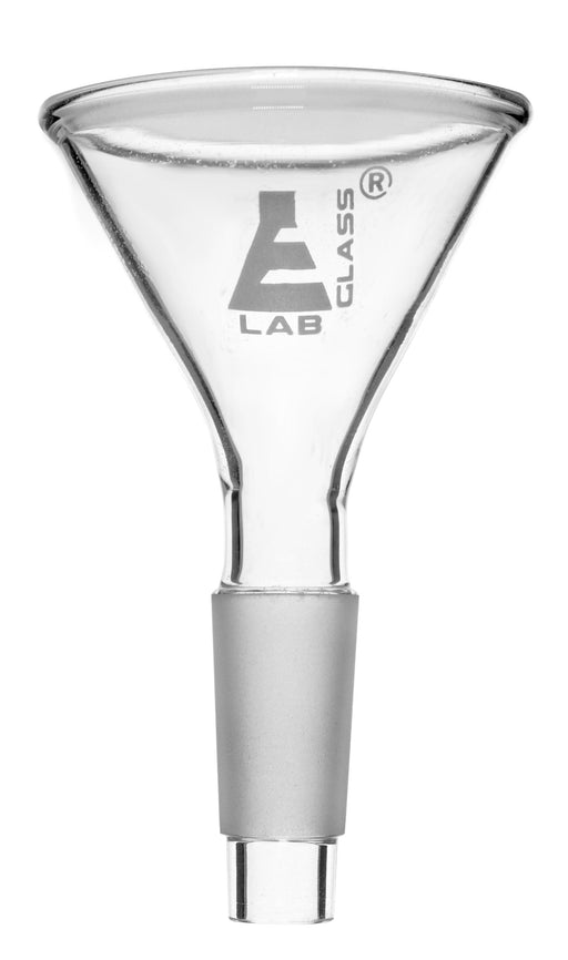 Jointed Powder Funnel, 45mm - 14/23 Joint Size - Borosilicate Glass - Eisco Labs