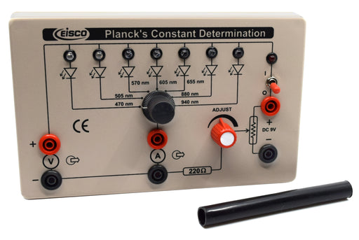 Planck's Constant Determination Box  - Explore the Physics of Kinetic Energy,  Frequency of Light, Electromagnetic Waves and More - Eisco Labs