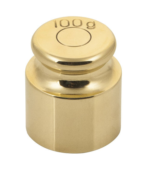 100g Balance Weight Spare - Brass - Eisco Labs