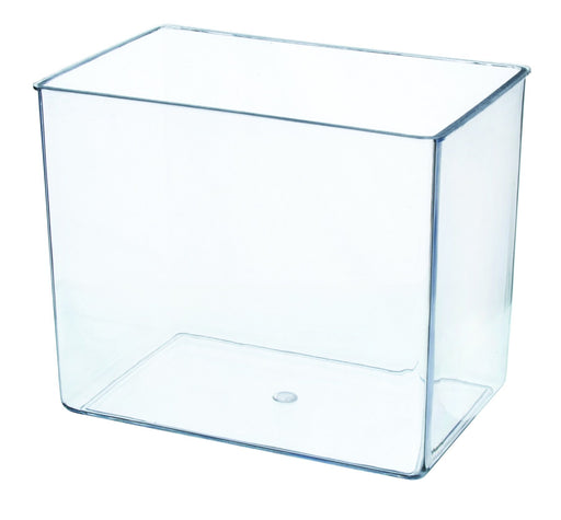 "Aquarium Tank, Small - Molded Plastic - 0.75 Gallon Capacity - 7"" x 6"" x 4.25"" - Eisco Labs"