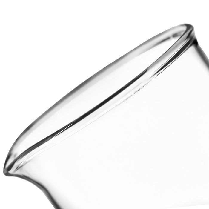 Beaker, 600ml - Low Form - 50ml Graduations - Borosilicate Glass