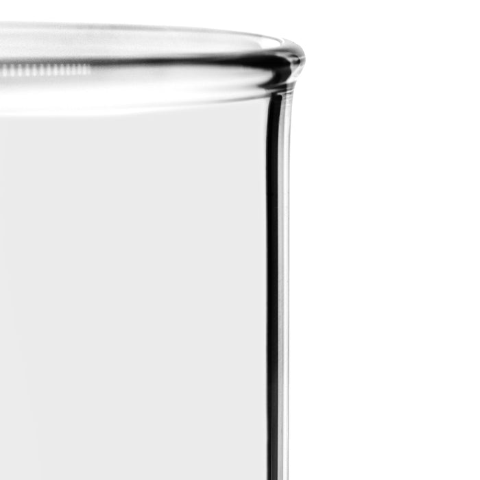 Beaker, 100ml - Tall Form - White Graduations - Borosilicate Glass