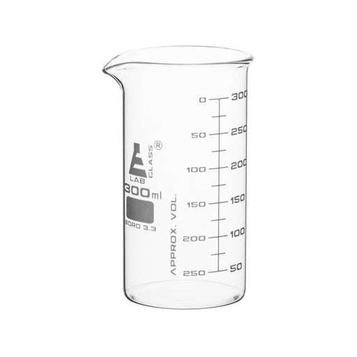 Beakers - Glass - ASTM - Tall Form 300ml