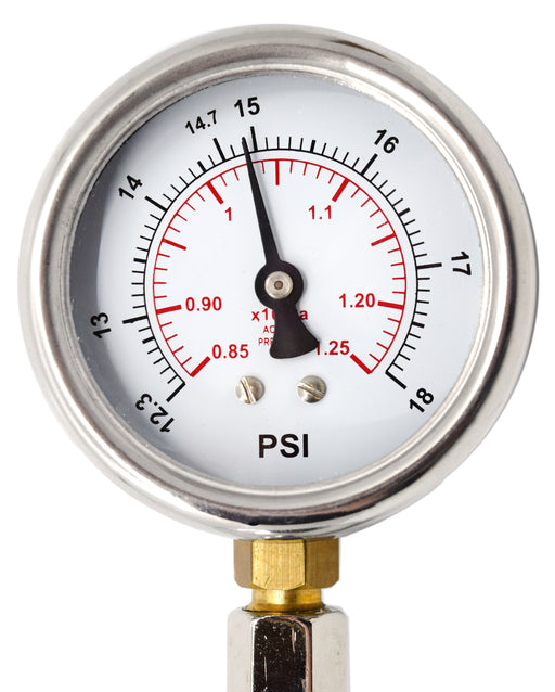 "Jolly Bulb with Attached Manometer, Superior Metal - 3.15"" Diameter Bulb - Explore Relationship Between Pressure and Temperature - Eisco Labs"