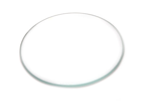Plano convex lens, 50 mm Dia., 100 mm FL - Glass - Eisco Labs