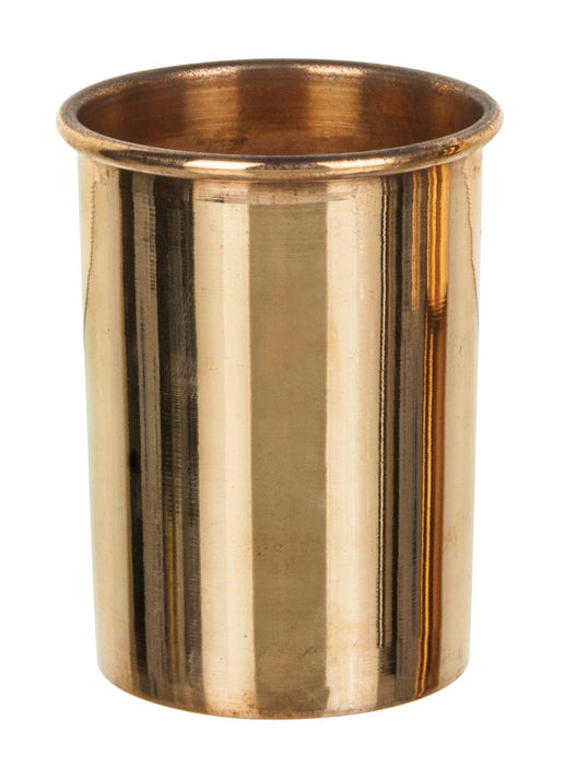 "Aluminum Calorimeter Inner Vessel with Parallel Sides and Rolled Rim, 3"" Tall, 2"" Diameter - Eisco Labs"