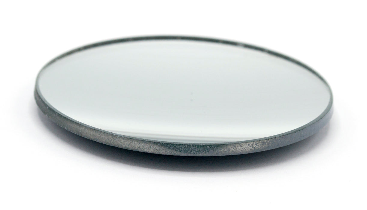 "Concave Mirror - 3"" dia., 75mm Focal Length - 3mm Thick - Glass - Eisco Labs"