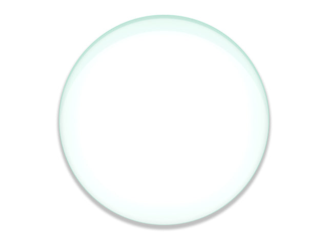 "Double Concave Lens, 500mm Focal Length, 3"" (75mm) Diameter - Spherical, Optically Worked Glass Lens - Ground Edges, Polished - Great for Physics Classrooms - Eisco Labs"