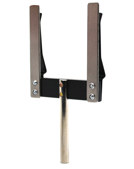 Holder for Diffraction Objects and Slides, Metal Frame, Spring Clips, Mounting Rod - Eisco Labs