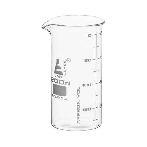 Beakers - Glass - ASTM - Tall Form 200ml