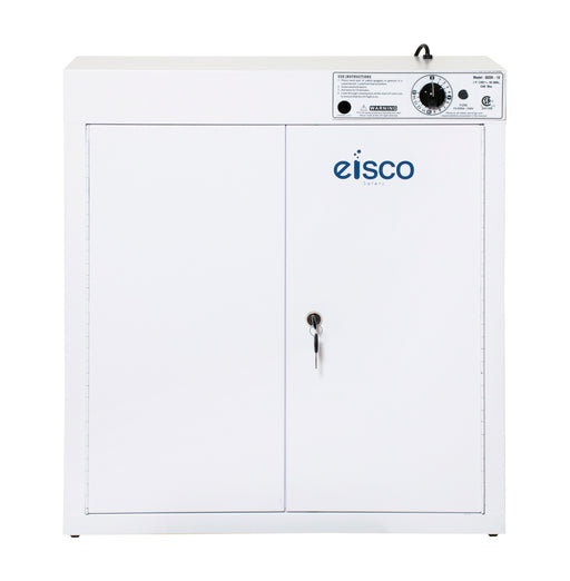 Goggle Sanitizer - UV Sanitizing Cabinet - Holds 36 Goggles - Wall Mountable - Heavy Duty CRC Steel - Eisco Labs