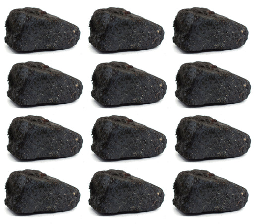 "12PK Raw Lodestone Rock Specimens, 1"" - Geologist Selected Samples - Eisco Labs"
