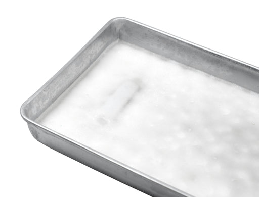 "Dissection Tray, 11"" x 7.5"" - With Wax - Aluminum - Eisco Labs"