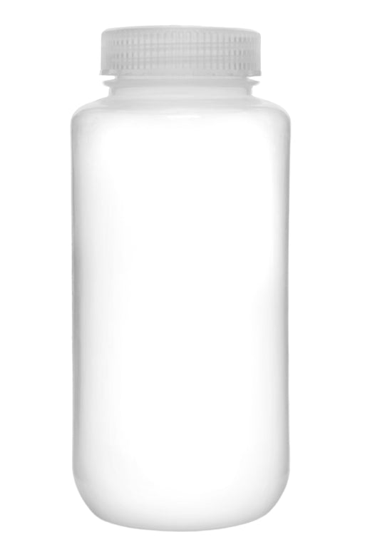 Reagent Bottle, 1000ml - Wide Mouth, Screw Cap - Polypropylene