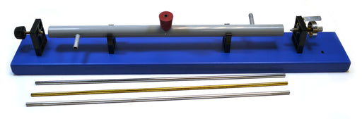Economy Linear Expansion Apparatus, Includes Aluminum, Brass and Iron Rods - Ideal for Experiments in Expansion - Eisco Labs