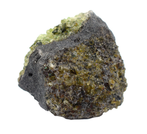 "12PK Raw Olivine, Mineral Specimens - Approx. 1"" - Geologist Selected & Hand Processed - Great for Science Classrooms - Class Pack - Eisco Labs"