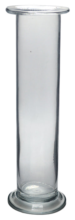 "Gas Jar, 500ml - 9.8"" x 2.24"" - Soda Glass, Cylindrical - Eisco Labs"