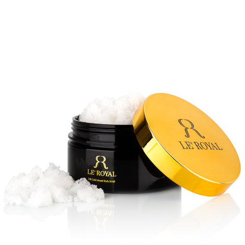24K Gold Infused Body Scrub
