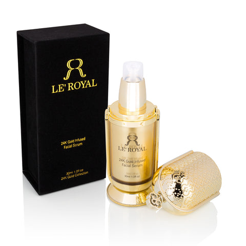 24K Gold Infused Facial Serum