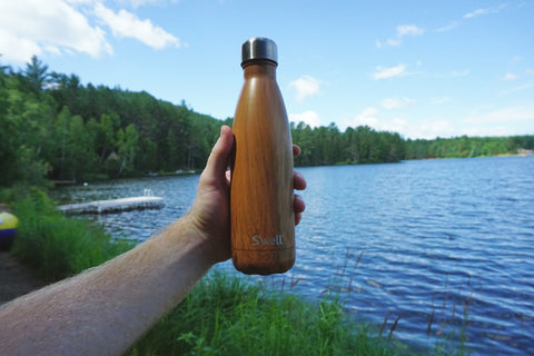 swell teak water bottle mrsgreenway