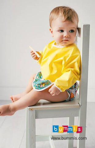 bummis bib with sleeves