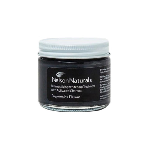 nelson naturals activated charcoal toothpaste