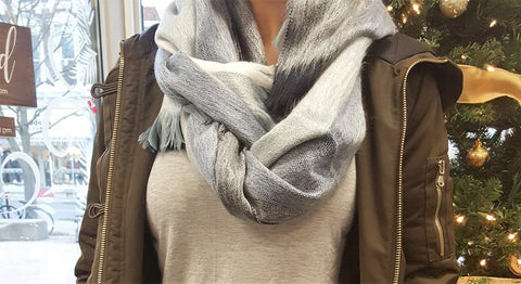 fair trade blanket scarf