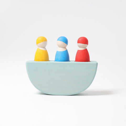 Grimm's - 3 Figures in a Boat Coloured